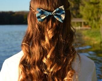 By the Beach Hair Bow