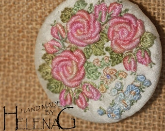 Hand Embroidered Brooche