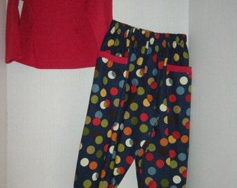 Girl's/Boys' Long Pants and Shirt
