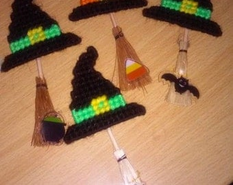 Witches Broom Magnets