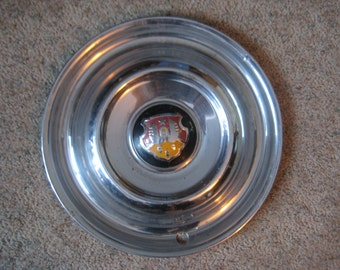 Olsmobile 15 inch Stainless steel Hub cap 1950-53