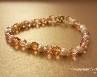 Champaign Bubble beads bracelets