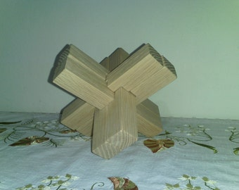 Wooden Puzzle - Cross