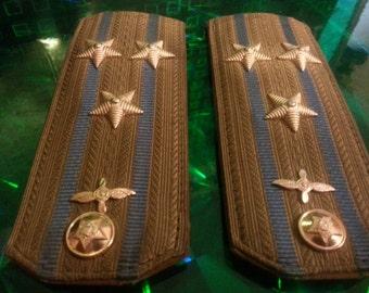 Soviet Shoulder straps of colonel army