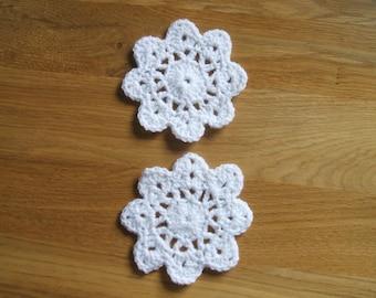 2 Handmade coasters