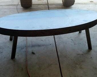 Custom Steel Coffee Table