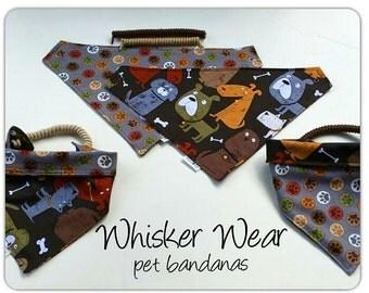 dog scarf, pet bandana, pet scarf, dog bandana, pet clothing, pet attire, everday bandana, pet wear