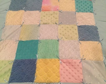 Patchwork boy quilt
