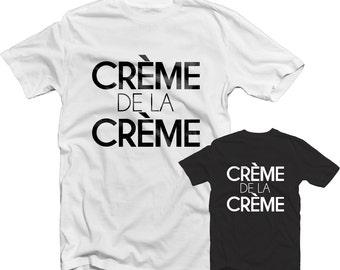 Creme De La Creme T Shirt 1230 - P Diddy Bad Boy New York Brooklyn Street Hype Urban 90s Rap Hip Hop Music New Street Wear Mens Fashion Top