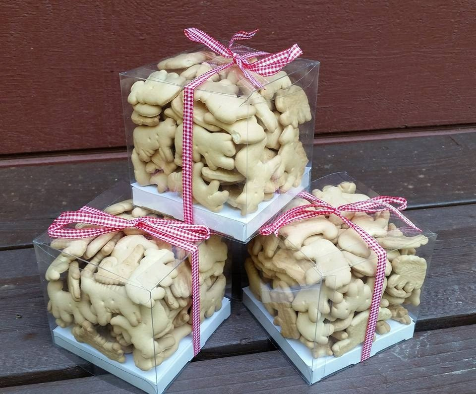Baby Shower Favors With Animal Crackers ~ Animal cracker party favors baby shower birthday