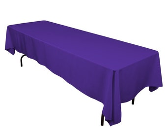 COLOR RECTANGULAR TABLECOVER: 60X108