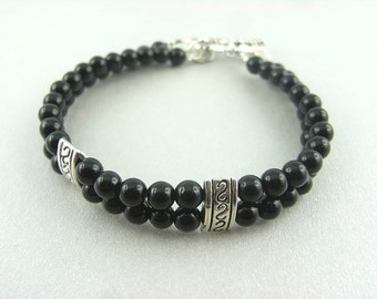 Bracelet - pretty in black