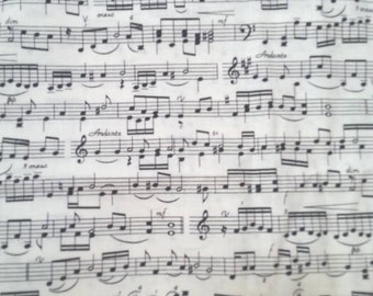 Music Notes Fabric!