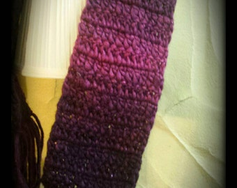 Children's Purple Gradient Scarf