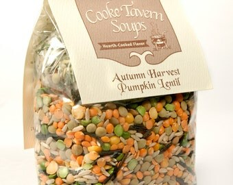 Autumn Harvest Pumpkin Lentil Soup Mix   Cooke Tavern Soups