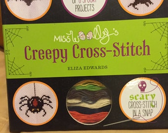Creepy Cross-Stitch kit by Miss Wooly