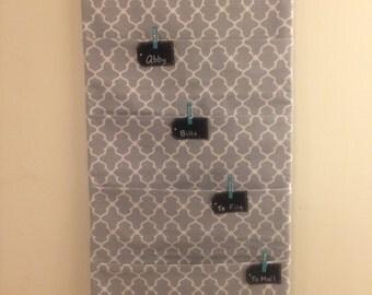 Five-Pocket Hanging Paper Organizer