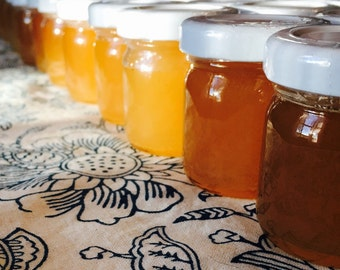 Honey Wedding Favors 1.25 oz Jar - 12ea