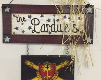Patriotic Name Banner