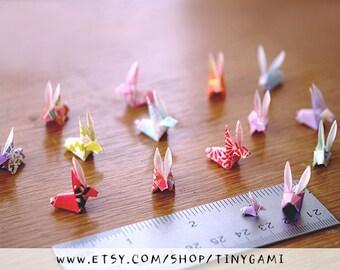 Tiny Origami Bunny