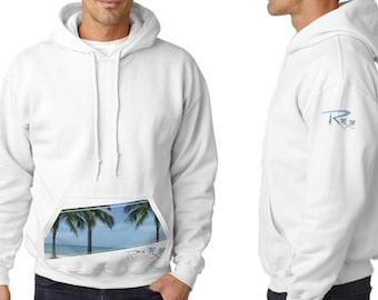 Relax Hoodie: Hooded Sweatshirt White