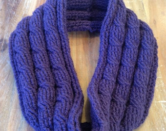 Infinity Cable scarf