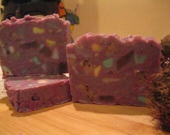 Burmese Lilac - Handmade Soap - Organic Artisan Soap – Natural Vegan Soap - Bath & Beauty
