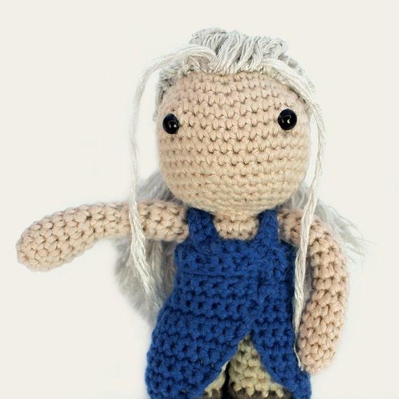 Game Of Thrones Amigurumi Pattern Free : Daenerys Game of Thrones. Amigurumi Pattern PDF DIY by ...