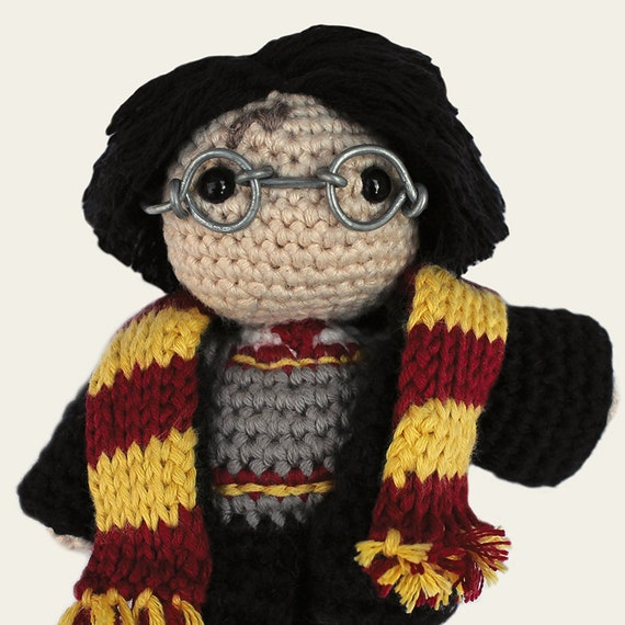 Harry Potter. Amigurumi Pattern PDF DIY Crafts Crochet
