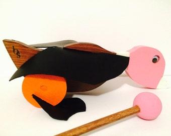 Pink Mallard Duck