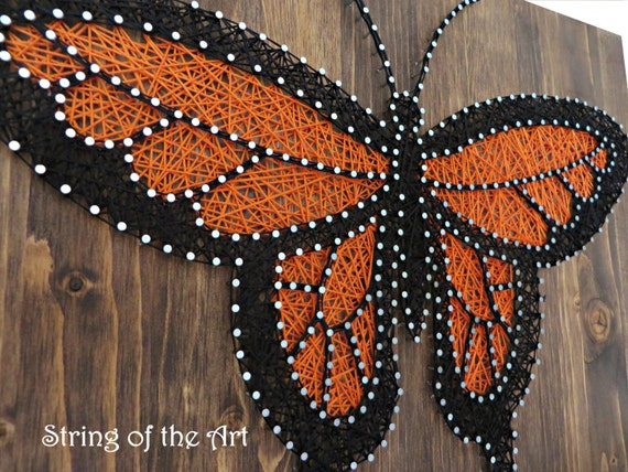 Butterfly String Art Kit - Adult Crafts Kit, DIY String Art, Home ...