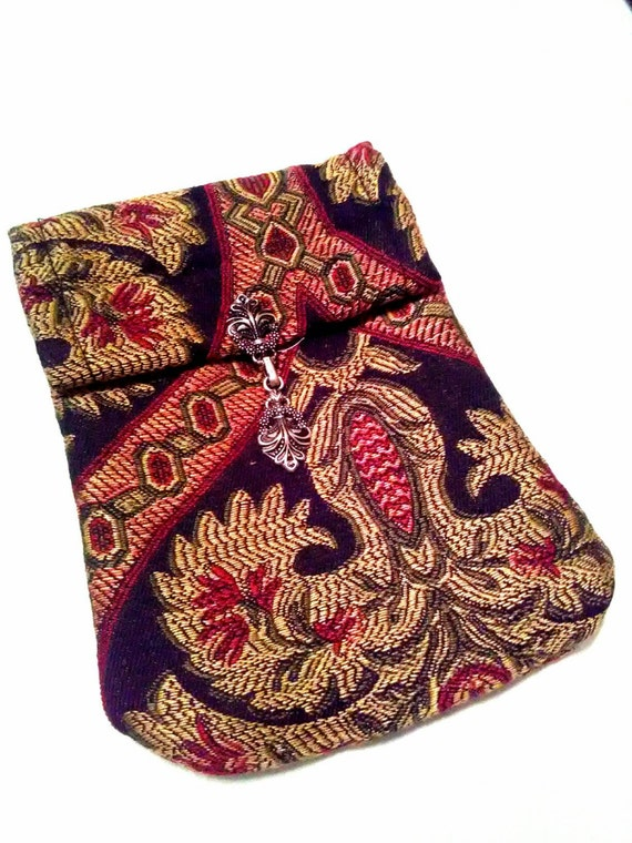 Tarot Bags Tarot Cards Cloths More: Jacquard Pattern Carpet Bag Material Tarot Bag For Large Sized
