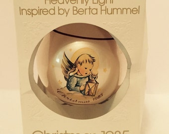 "1985 Hummel ""Heavenly Light"" Christmas Ornament"