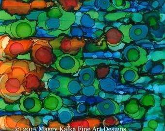 21 - Modern Art Abstract Print
