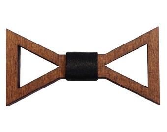 Ruslan Wooden Bow Tie Men Women Bowtie FREE WORLDWIDE SHIPPING