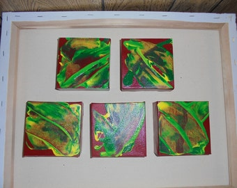 Set of 5 Abstracts