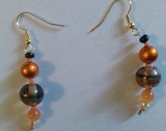 FREE SHIPPING!!!! Glass bead earrings