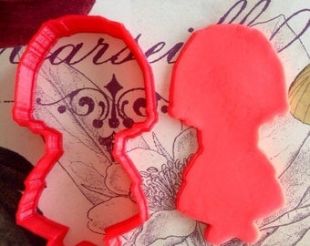 First Communion: Girl Praying Cookie Cutter (2 Variations)-Razor Edge