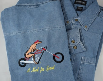 A Need for Speed on Denim