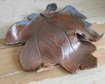 Handmade Ceramic Leaf