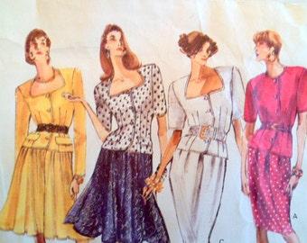 Vintage Vogue Sewing Pattern: Vogue's Basic Design 2241, Sizes 12/14/16