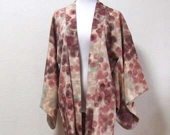 Haori/Japanese cardigan /vintage /traditional wear/for kimono