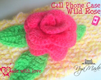 Case For Cell Phone / Estuche /Phone case / Crocheted case / Mobile bag / Cell Phone cover