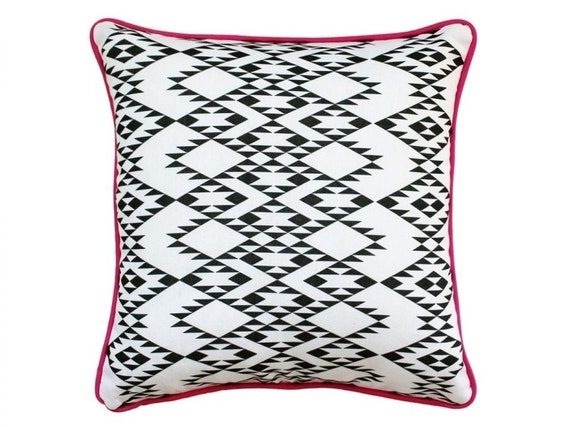 Navajo Pillow Case 16 Aztec Pillow Cover by onTheRainbow on Etsy
