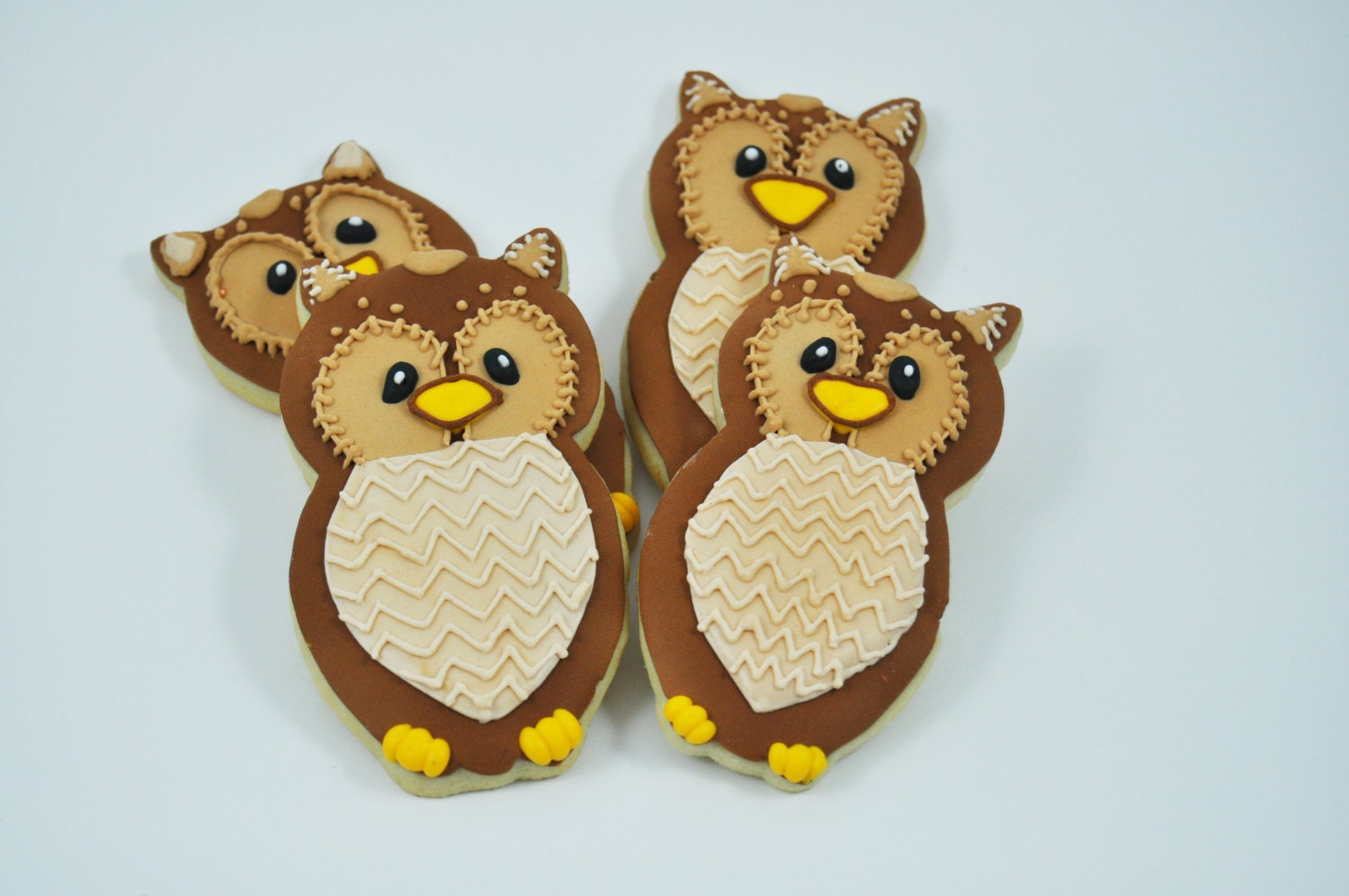 Owl Decorated Cookies Owl Cookies Etsy