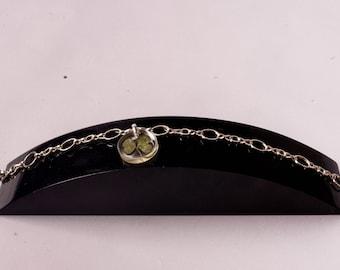 "Four Leaf Clover Bracelet ""Helenka"""
