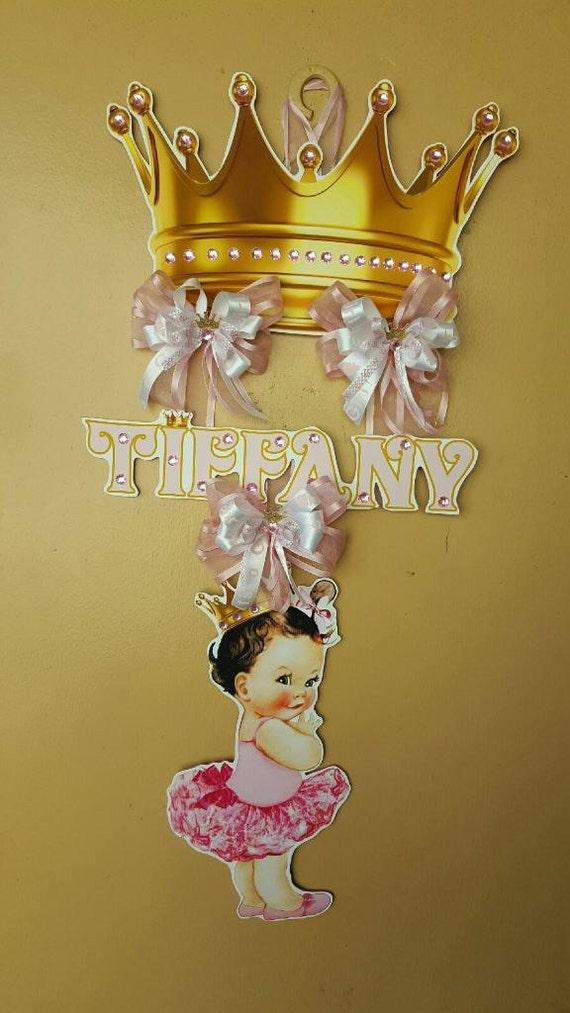 Baby shower door hanger decoration for Baby shower door decoration