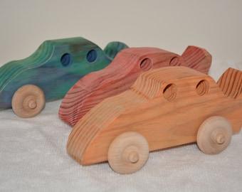 Wooden Classic Push Car