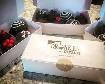 Liquor or Flavor Infused Dark Chocolate Truffles (1/2 lbs)