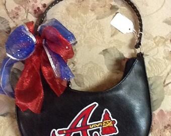 Handmade Atlanta Braves purse!